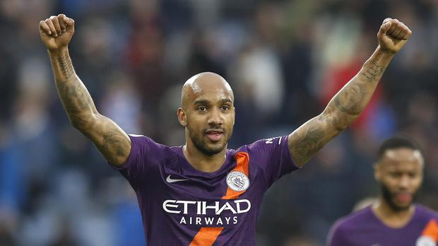 Fabian Delph won two Premier League titles with Manchester City (Martin Rickett/PA)