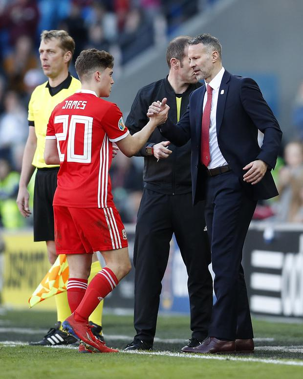 Daniel James: 'Every young winger aspires to be like Ryan Giggs