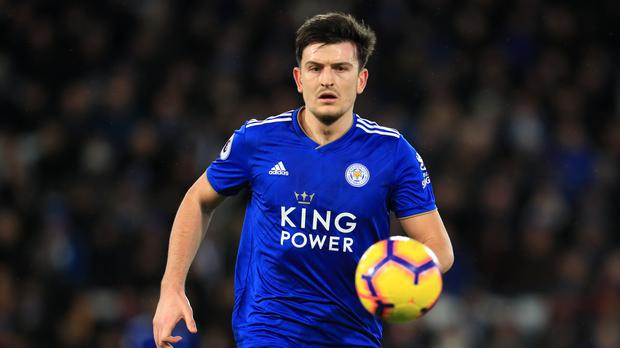 Leicester's Harry Maguire is a big transfer target for Manchester United (Mike Egerton/PA)