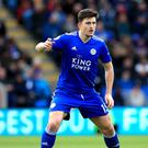 Leicester and United differ on their valuations of Harry Maguire (Mike Egerton/PA)