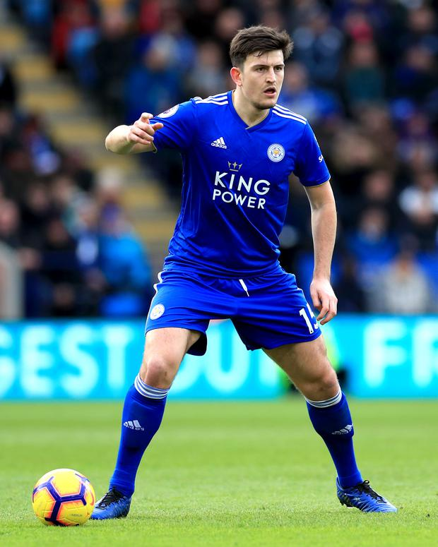Leicester City boss relaxed about defender's link to Manchester United