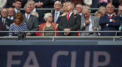 Stan Kroenke (centre) took sole ownership of Arsenal during August 2018 (Nick Potts/PA)
