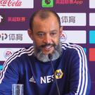 Nuno hopes Wolves have gained a bigger following in China (Andy Hampson/PA)
