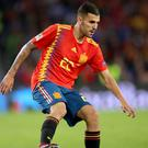 Real Madrid's Dani Ceballos is close to a loan move to Arsenal (Nick Potts/PA)