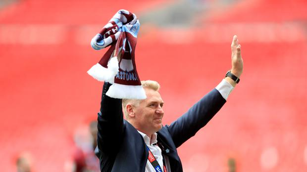 Dean Smith has added another player to his promotion-winning Aston Villa squad (Mike Egerton/PA)
