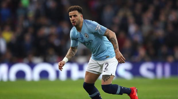 Kyle Walker is fully focused on steering Manchester City to European glory (Nick Potts/PA)