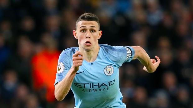 Phil Foden is likely to find the spotlight on him as David Silva's career winds down (Richard Sellers/PA)