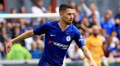 Jorginho (pictured) has a new role under Frank Lampard at Chelsea (Donall Farmer/PA)