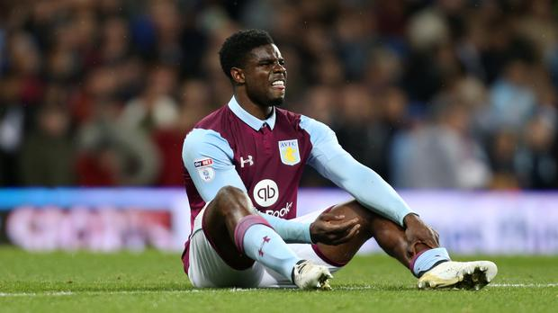 Micah Richards has lost his battle against a persistent knee injury (Barrington Coombs/PA)