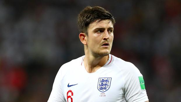 Harry Maguire is heading to Manchester United (Tim Goode/PA)