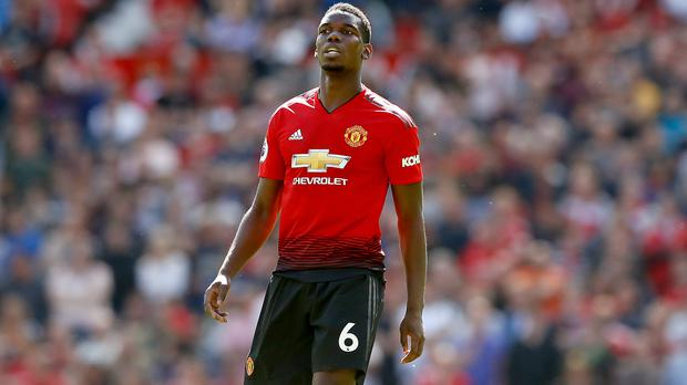 Paul Pogba missed Manchester United's final pre-season game against Milan in Cardiff (Martin Rickett/PA)