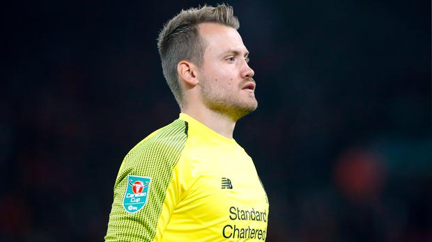 Liverpool goalkeeper Simon Mignolet is set to leave the club (Martin Rickett/PA)