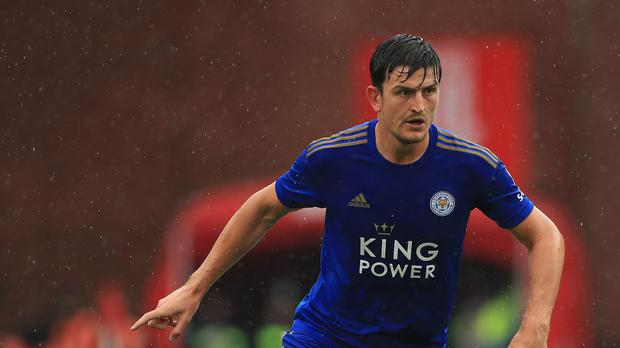 Manchester United have completed the signing of England defender Harry Maguire (Mike Egerton/PA)