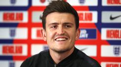 Harry Maguire has joined Manchester United (Tim Goode/PA)