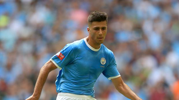 Rodri has made a good early impression at Manchester City (Adam Davy/PA)