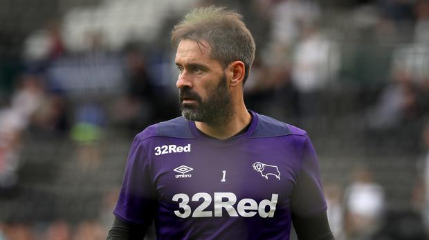 Scott Carson has completed a surprise loan switch to Manchester City (Chris Radburn/PA)