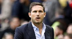 It was a chastening day for Frank Lampard and Chelsea (Martin Rickett/PA)