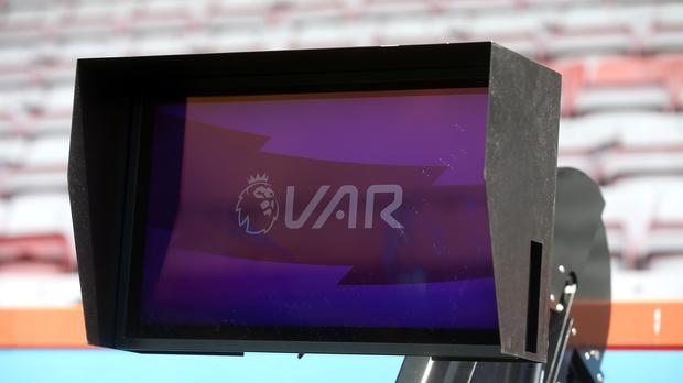 VAR technology was used in the Premier League for the first time over the weekend (Mark Kerton/PA)