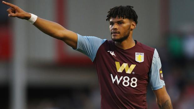 Aston Villa's Tyrone Mings has been tipped to win an England call-up (Nick Potts/PA)