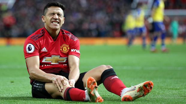 Alexis Sanchez has struggled at Old Trafford (Martin Rickett/PA)