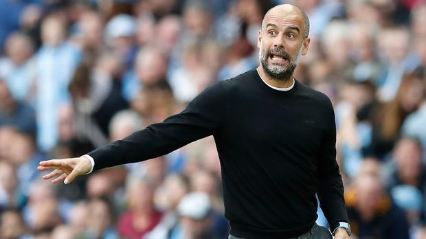 Pep Guardiola accepted the decision after VAR denied Manchester City a late winner against Tottenham (Martin Rickett/PA)