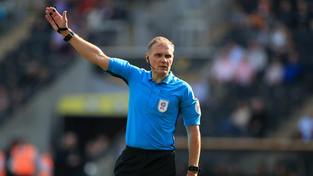 Graham Scott was unable to take charge of Chelsea's match against Leicester after getting stuck in traffic (Mike Egerton/PA).