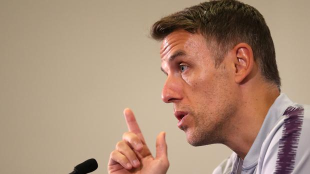 Phil Neville has called for a boycott of social media platforms (Nigel French/PA)