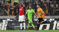 Rui Patricio saved Pogba's penalty during the 1-1 draw on Monday evening (Nick Potts/PA)