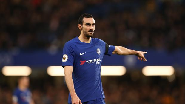 Davide Zappacosta has joined Roma on loan (John Walton/PA)