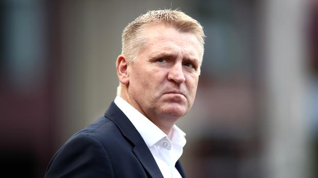 Dean Smith led calls for social media company to police abusive posts (Tim Goode/PA)