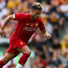 Liverpool midfielder Alex Oxlade-Chamberlain has signed a contract extension (Barrington Coombs/PA)