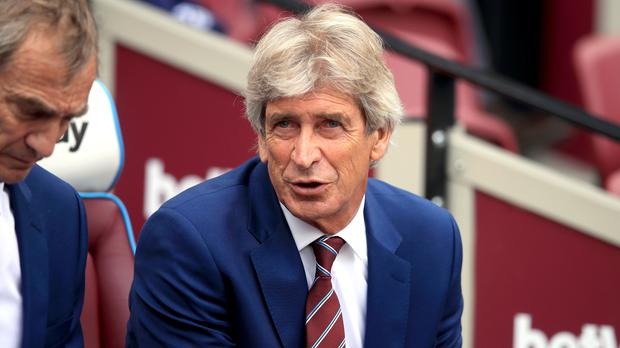 Manuel Pellegrini has warned his West Ham squad that they will face a tough match at Watford (Adam Davy/PA)