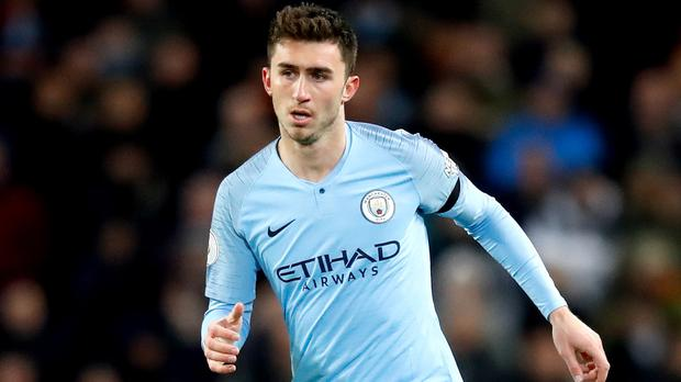 Manchester City fear Aymeric Laporte could face a long lay-off (Martin Rickett/PA)