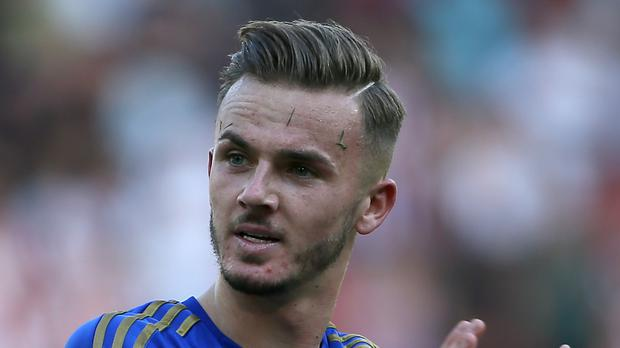 James Maddison earned high praise from Brendan Rodgers (Richard Sellers/PA)