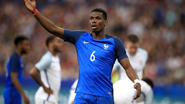 Pogba replaced by Guendouzi in France squad