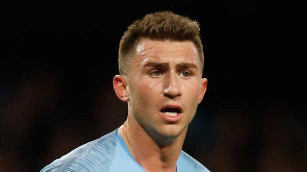 Manchester City defender Aymeric Laporte has undergone successful surgery on the knee he injured at the weekend (Martin Rickett/PA)