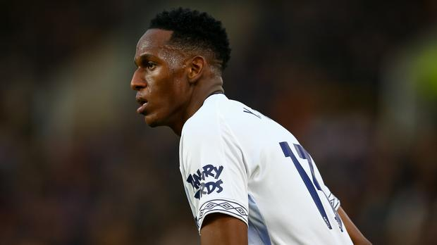 Everton defender Yerry Mina has been fined £10,000 after breaching FA betting rules (Dave Thompson/FA)