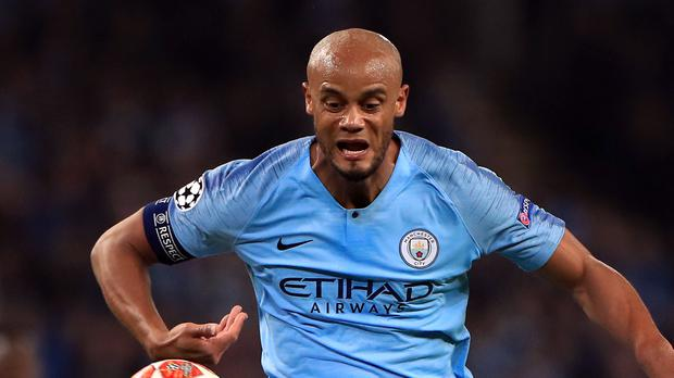 Vincent Kompany will not play in his own testimonial due to injury (Mike Egerton/PA)