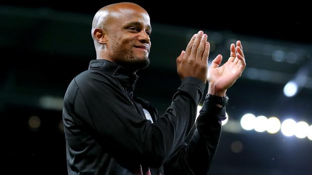 Vincent Kompany enjoyed his testimonial despite not playing (Martin Rickett/PA)