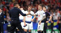 Tottenham manager Mauricio Pochettino is proud of Kieran Trippier's achievements over the last four years (Mike Egerton/PA)
