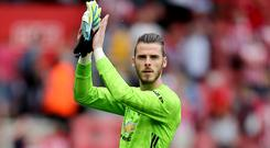David De Gea has signed a contract extension at Old Trafford (Mark Kerton/PA)