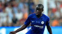 N'Golo Kante is not fit to return for Chelsea (Adam Davy/PA)