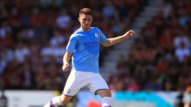 Manchester City's Aymeric Laporte is facing a lengthy lay-off (Adam Davy/PA)