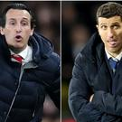 Unai Emery and Javi Gracia are good friends (Adam Davy/PA)