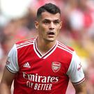 Arsenal captain Granit Xhaka said his team were afraid of Watford's fight (Nick Potts/PA)