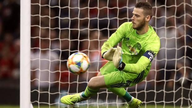 David De Gea is staying at Manchester United (Adam Davy/PA)