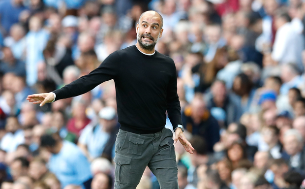 Pep Guardiola says Manchester City 'do not have many choices' in defence