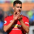 Diogo Dalot has competition for places at United (Anthony Devlin/PA)