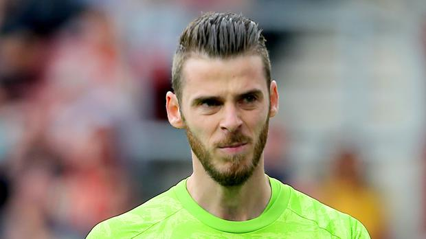 David De Gea recently signed a new contract with Manchester United (Mark Kerton/PA)