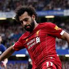 Liverpool's Mohamed Salah during his side's 2-1 win at Stamford Bridge (Nick Potts/PA)